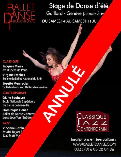 2ème Stage de International de Danse d'été Gaillard – Genève
